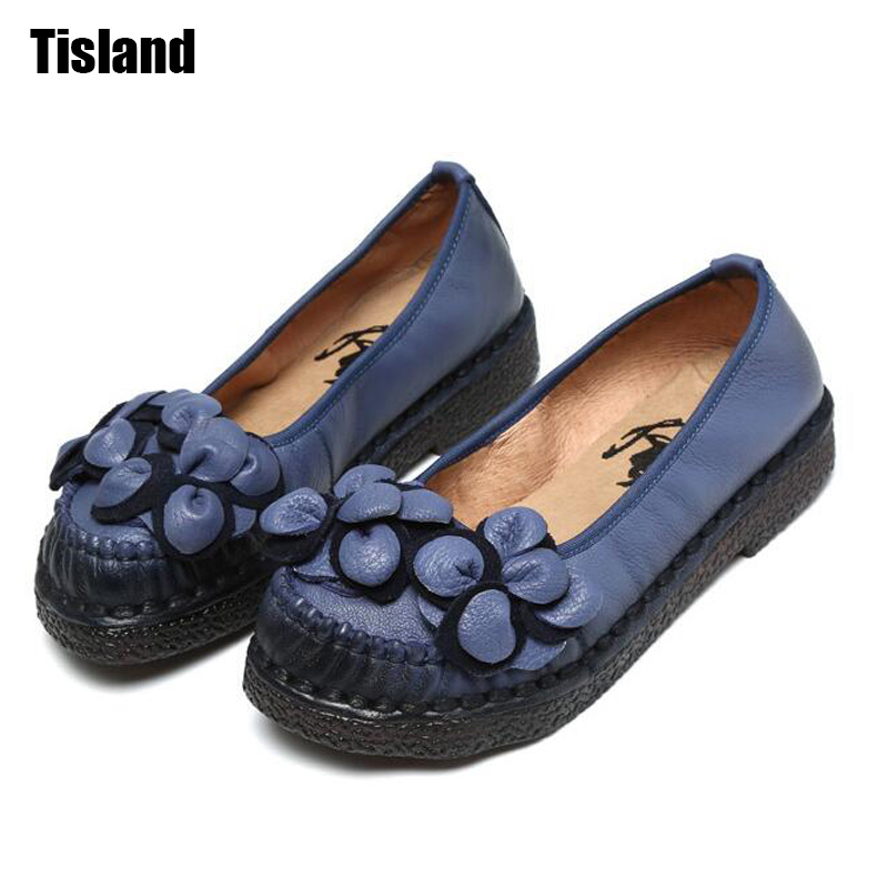 Handmade Mother Shoes Classic Women Genuine Leather Shoes Fashion Flats Female Loafers Soft Comfortable Shoes Size 35~40 for lenovo ideapad g700 g710 g780 g770 17 3 inch laptop 2nd hdd 1tb 1 tb sata 3 second hard disk enclosure dvd optical drive bay