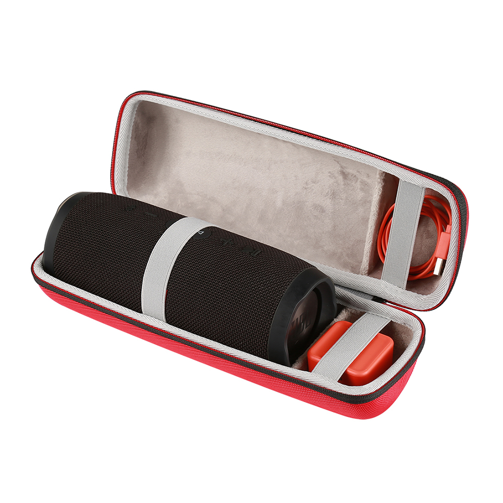 Wireless Bluetooth Speakers Cases For for JBL charge 3 charge3 Extra Space For Plug&Cables Storage Zipper Bags Protective Boxes