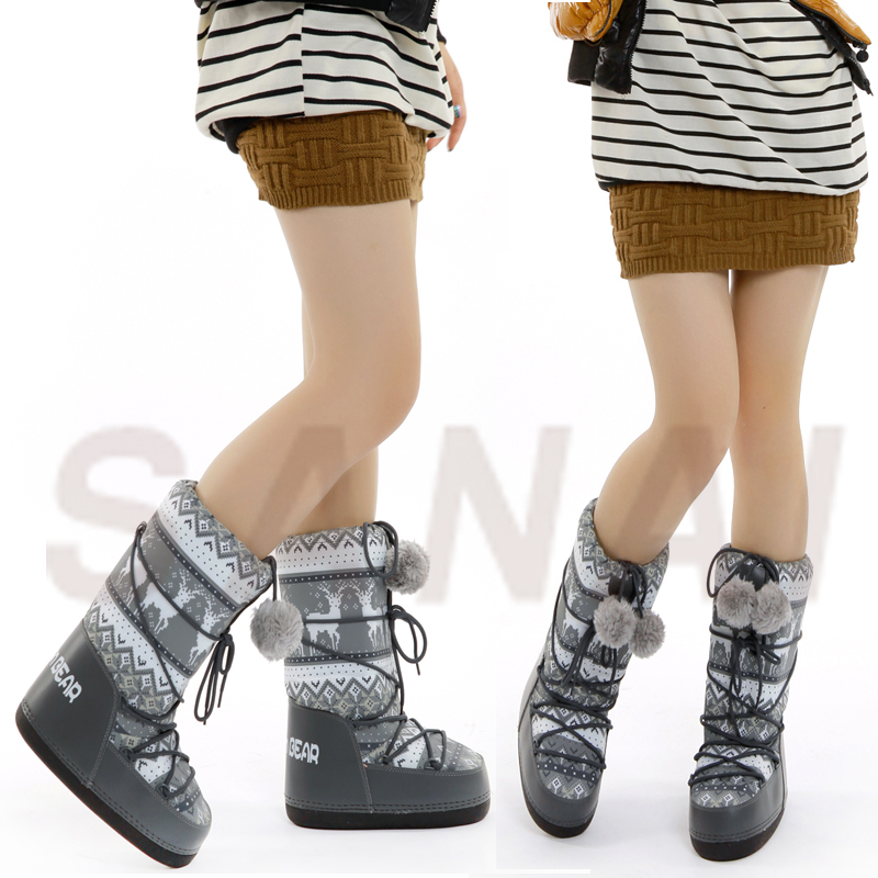 Aliexpress.com : Buy 2016 winter fashion Women space boots snow ...