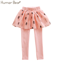 Humor Bear 2017 New Brands Spring Autumn Girls Leggings Girls Skirt Pants Cake Skirt Girl Baby