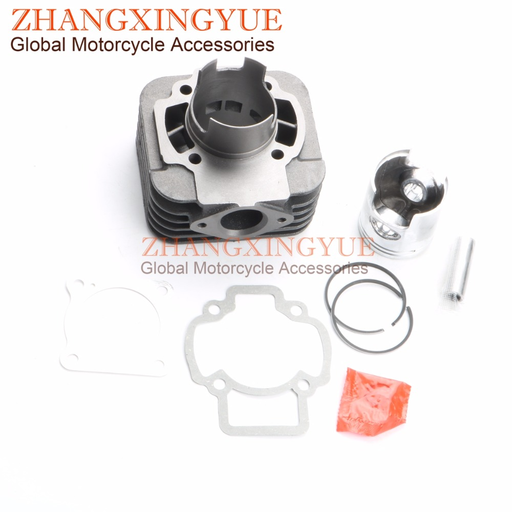 70cc Big Bore Cylinder Barrel Kit for GILERA EASY MOVING50 ICE50 STALKER50 STORM50 TYPHOON 50 X 47mm/12mm 47mm 10mm 70cc big bore cylinder barrel kit head for aprilia gulliver rally scarabeo sonic sr 50cc