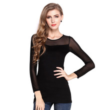 Women's Slim Thin Package Hip Long Sleeved Chiffon Mini Dress robe femme Bottoming Party 2016 Fashion