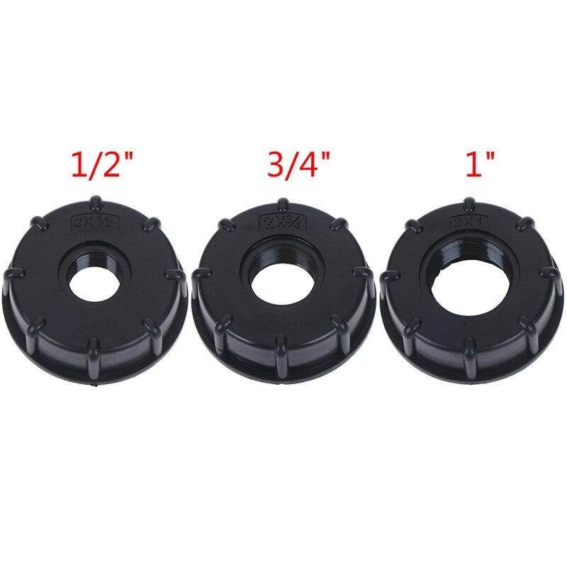 1/2 polegada 3/4 polegada 1 polegada rosca ibc tanque adaptador torneira conector válvula de substituição montagem para casa jardim conectores água