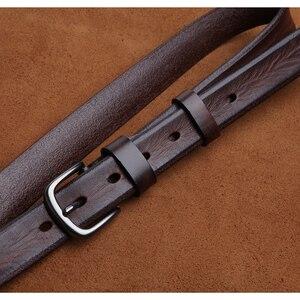 Image 3 - LANSPACE العلامة التجارية اليدوية الرجال أحزمة جلدية بالجملة سليم الترفيه حزام البنطال الجينز 2.7