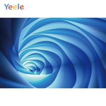 Yeele Science Fictions Spiral Space-time Tunnel Kid Personalized Photographic Backdrops Photography Backgrounds For Photo Studio