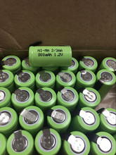 Cncool 6PCS/lot New Original 1.2V 2/3AA 800mAh Ni-Mh 2/3 AA Ni-Mh Rechargeable Battery With Pins fast shipping original ni pci can 2