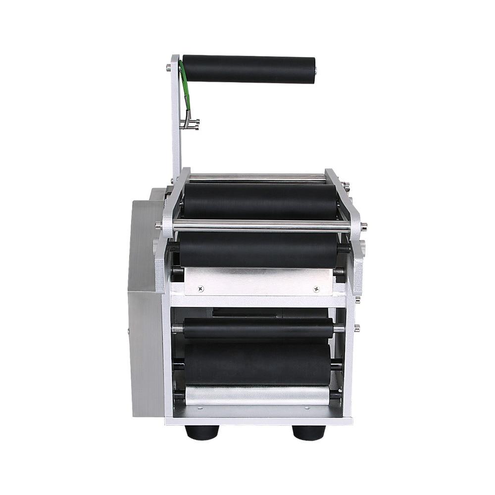 Imprimante adhésive de Machine à étiquettes de bouteille avec l'entrepôt semi-automatique de l'ue de MT-50 électrique ronde