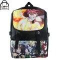 [Newtall] 2017 novo anime fairy tail natsu lucy caráter colorido mochila bolsa escola bolsa de ombro frete grátis 16072902