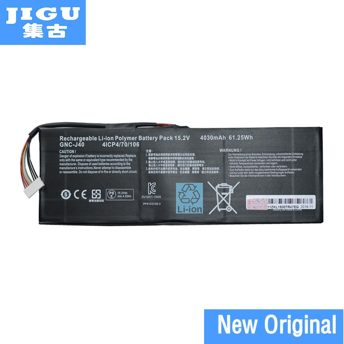 JIGU Original Laptop Battery 916TA013F GNC-J40 For SCHENKER XMG C504 FOR GIGABYTE P34 V4 P34G V2 P34W V3 V4 цены онлайн