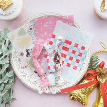 new 9*12.5cm 100pcs pink Christmas Candy paper Chocolate Taffy Wrap For Party Gift Decoration