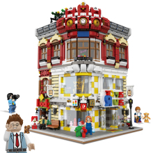 Creator Expert City Street View Grand Emporium Sets Model Building Kits Blocks Bricks Toys for children Digital building blocks недорого