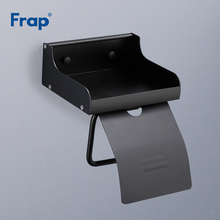Soporte de papel higiénico negro antiguo de Frap, soporte de baño móvil, accesorio de almacenamiento de papel higiénico Tssue portarrollos de papel Y18058