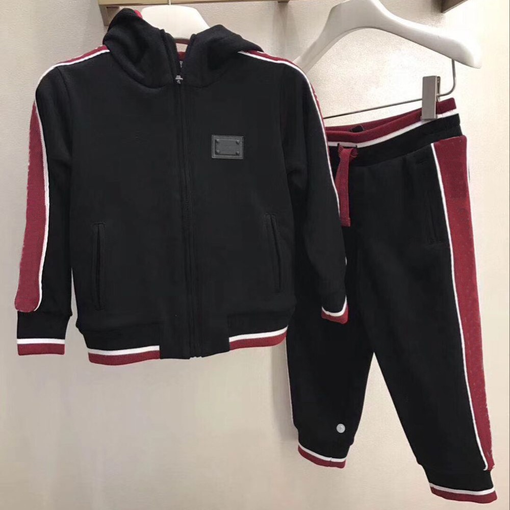 Baby Clothes Sets Children Boys Girls Tracksuits Kids Spring Autumn Sport Suits Zipper Jacket +pants in end of September kids sport suits boys girls tracksuits children clothing baby infant outfits 4 color fashion sets 2018 spring autumn kid clothes