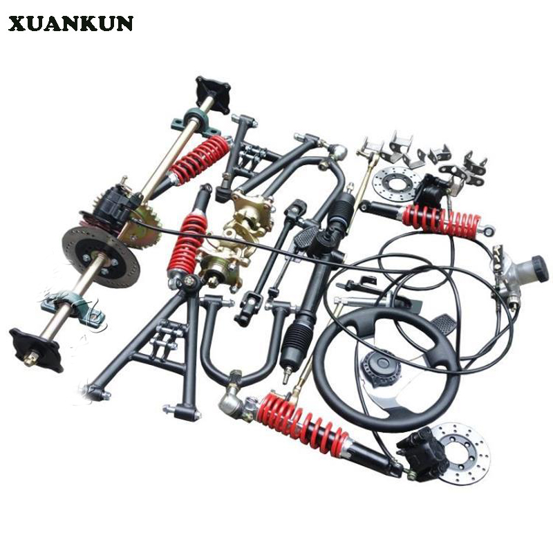 Automotive And Motorcycle Parts: XUANKUN Four Rounds Of Beach Car Karting Modified Parts