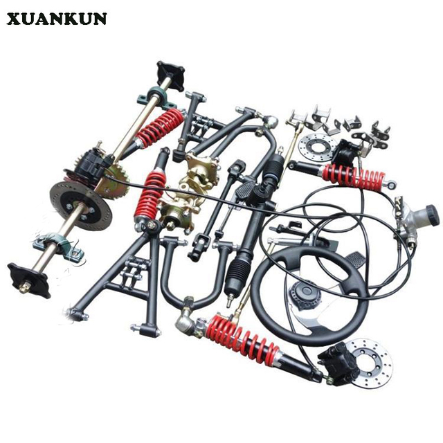 Motorcycle Parts In Delaware Mail: XUANKUN Four Rounds Of Beach Car Karting Modified Parts