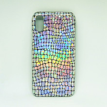 3D Голограмма лазерная Змеиная Кожа блестящий чехол для iPhone X XS MAX XR 8 7 Plus 6 S 6s Plus 7 plus чехол Крокодил голографический чехол
