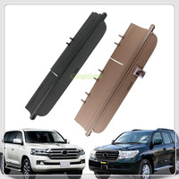 Black Beige Car Rear Trunk Luggage Shelf Cargo Cover For Toyota Landcruiser LC200 2008 2011/2012 2016 Auto Accessories car cover