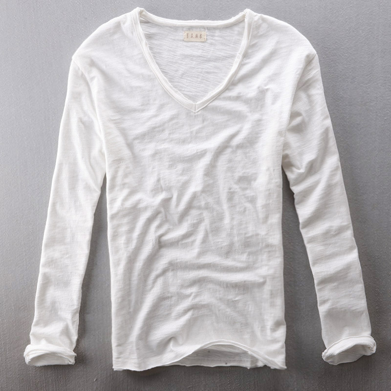 Mens thin long sleeve t shirts shirts rock Mens long sleeve white t shirt