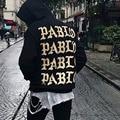 Vida De Pablo Yeezys Kanye West Homens Do Hoodie Do Hip Hop Tração Paris Camisolas Yeezy Yeezus Turnê Eu sentir Como Paul Abertura Jaquetas
