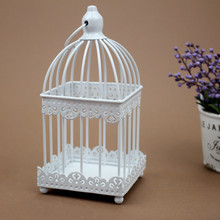 3 Kinds Creative Birdcage Shape Candlestick Iron Craft Candle Holder Modern Style Home Decoration Dining Decorations