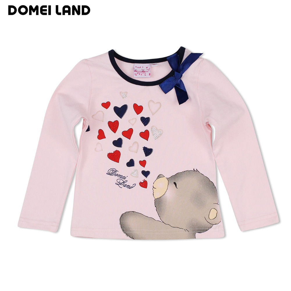 2016 Fashion Baby clothes Girls For Cute Long Sleeve Print ...