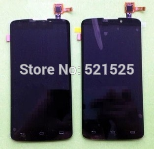 Free shipping, Original LCD+Touch screen assembly for Philips V387 CTV387 Cellphone Xenium mobile phone