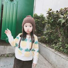 Свитер для маленьких девочек вязаный свитер на осень и зиму