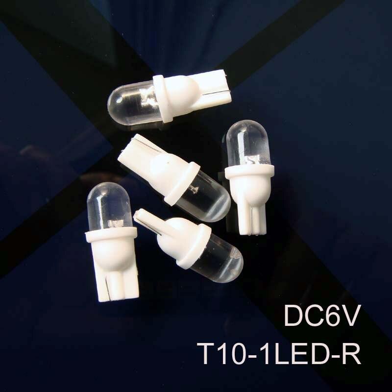 High quality 6v T10 w5w 168 194 led Indicator light 6.3v Led Signal light led Pilot lamp Warning light free shipping 20pcs/lot