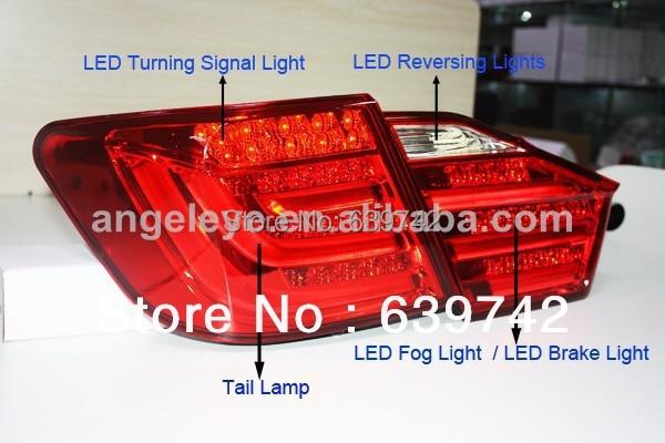 Za TOYOTA Camry Aurion LED zadnja svjetla zadnja svjetla za BMW Style - Svjetla automobila - Foto 3