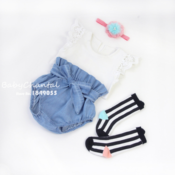 New Jeans Ruffle Bloomers Toddler Brand Baby Girl PP Shorts Boutique Clothing 2018 Summer Girls Clothes Diaper Cover For Baby 1