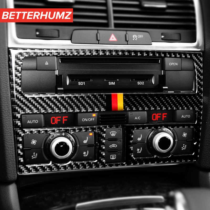 A6L Adesivo per Auto Q3 A3 Q5 Q7 Adesivo per Volante in Fibra di Carbonio Tinta Unita Compatibile con Audi A4L