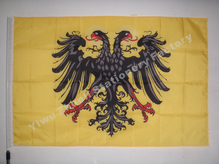 Banner Of The Holy Roman Emperor With Haloes 150X90cm (3x5FT) 120g 100D Polyester Free Shipping image