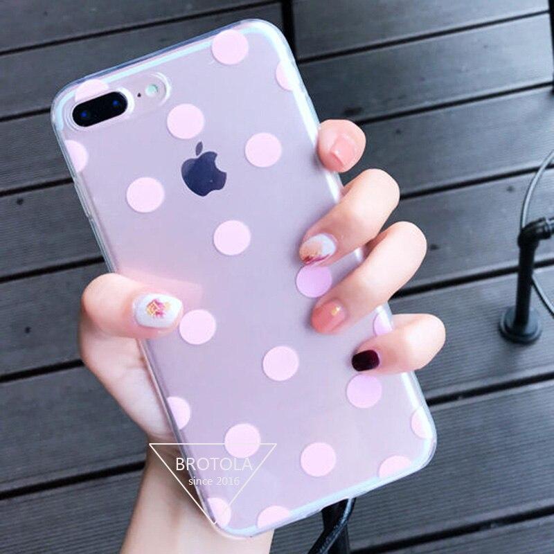 iphone 6 phone case polka dot