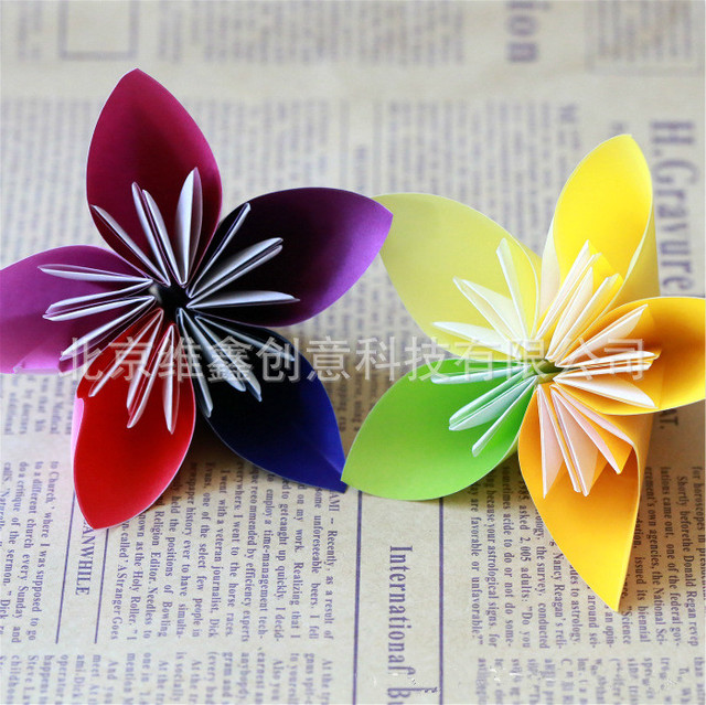 Aliexpress Buy 50pcs Diy Craft Paper Children Colorful
