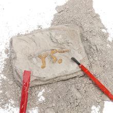 Комплект раскопки динозавров археологии выкопать Fossil Скелет Fun Kids игрушка Горячая Распродажа выкопать миниатюрный скелет динозавра