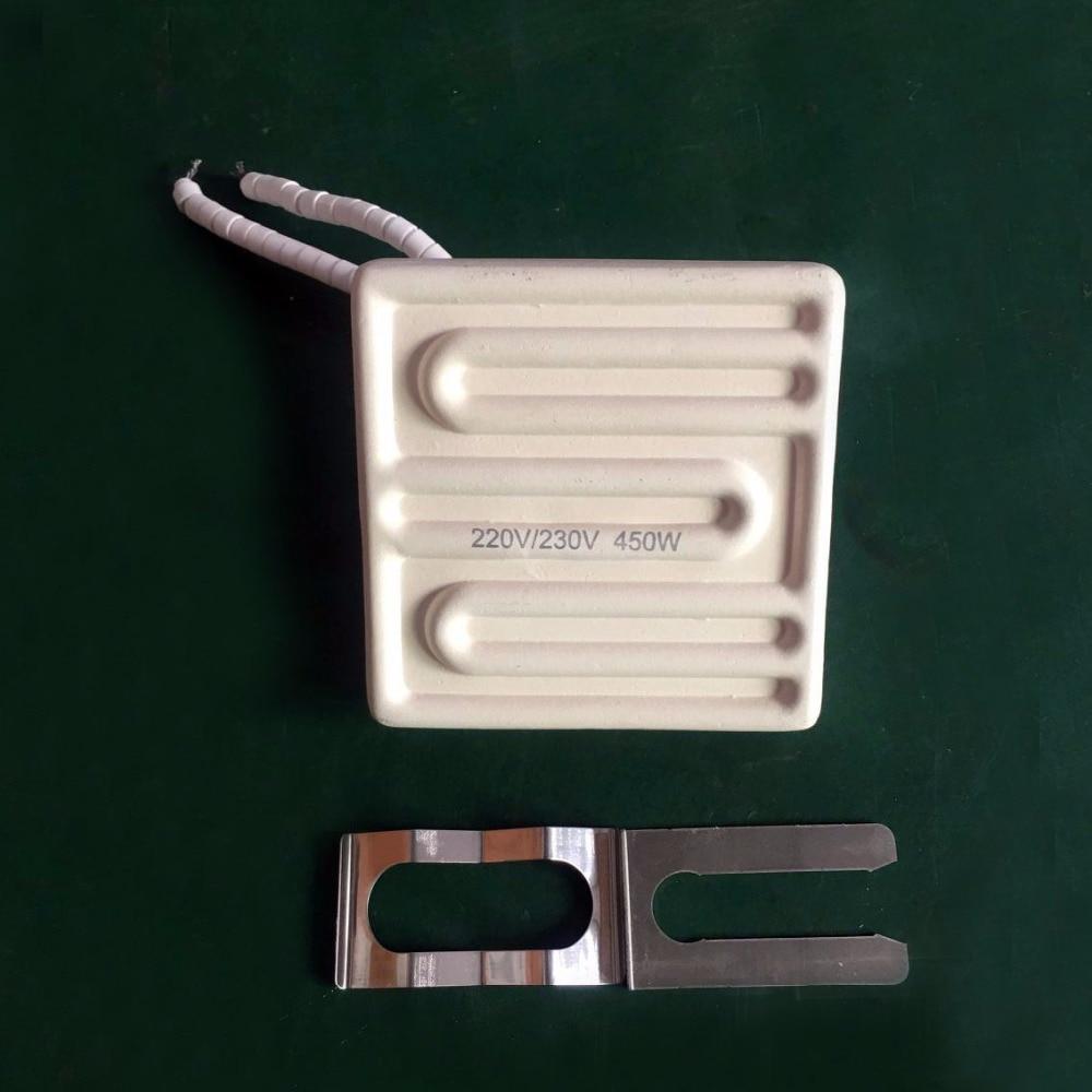 Darmowa dostawa !! 80 * 80mm 450W Płyta grzewcza na podczerwień z - Akcesoria do elektronarzędzi - Zdjęcie 5