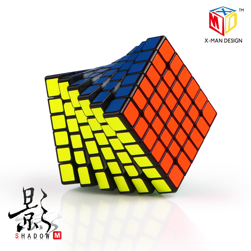 QiYi 6X6 CUBE X MAN DESIGN 6x6x6 Magnetic Version Mofangge Magic Cube Puzzle 6x6 Speed Cube