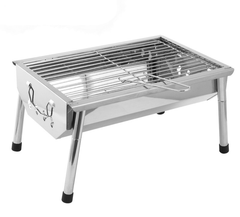 Bbq outdoor grill home portable charcoal thick