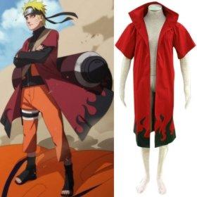 Anime Naruto Cosplay Individual Uzumaki 6th Hokage