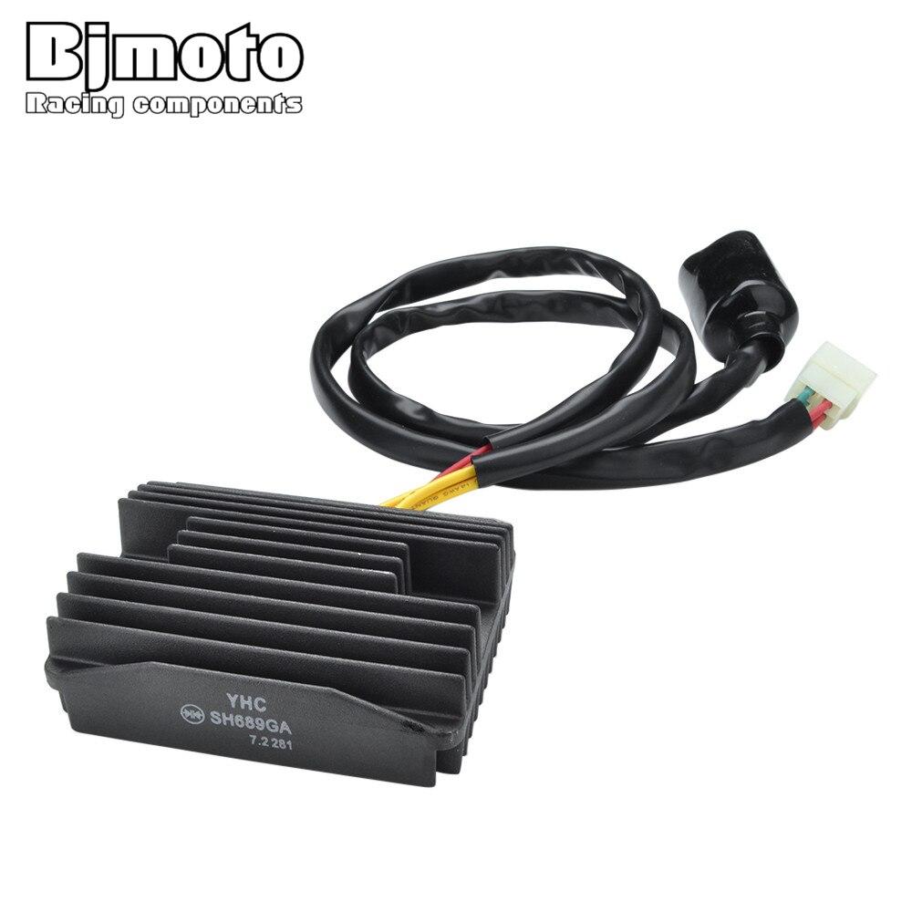BJMOTO SH689GA retificador regulador Da Motocicleta Para Honda CB 900 F2 CB919 Aprilia/F3/F4/F5/F6 /F7 VTX Hornet 1300 S3/S4/S5/S6/S7/S8