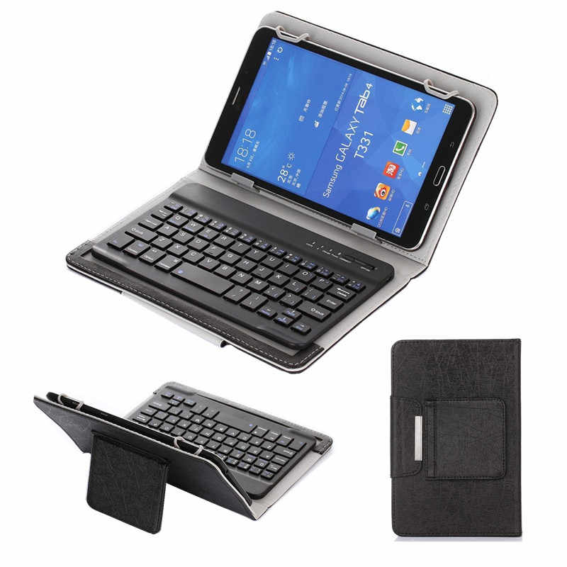 Bluetooth 3.0 Keyboard Case for Samsung Galaxy Tab A A6 10.1 2016 T585 T580 SM-T580 T580N tablet Universal cover +pen+OTG