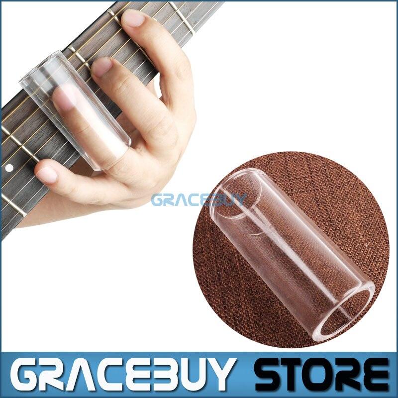 Guitarra Eléctrica Acústica de cristal Dedo Diapositiva Slider/Deslizante Guitar
