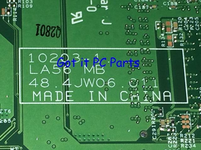 ¡ Nuevo!!! envío libre la56 mb 48.4jw06.011 madre del ordenador portátil para lenovo b560 mainboard notebook pc comparar antes de orden