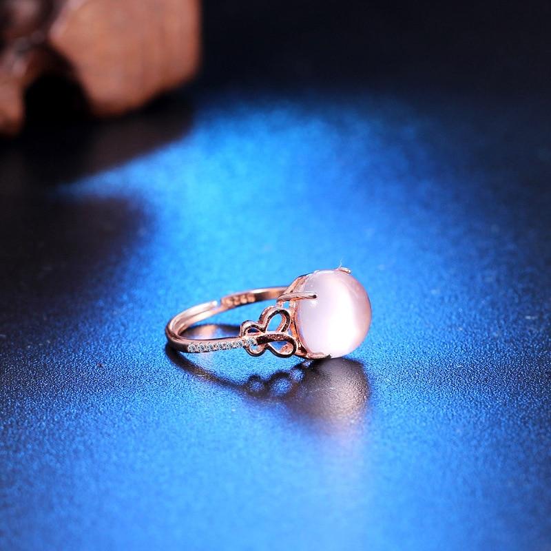 YWM 925 ստերլինգ արծաթագույն էմալ օղակ - Նուրբ զարդեր - Լուսանկար 4