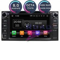 Roadlover Android 8.0 Car DVD Player For Toyota Corolla RAV4 Camry Prado Avensis Hilux 2007 2008 2009 2010 Stereo GPS Navigation