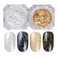 BORN PRETTY 1.5g Shining Nail Glitter Diamond Powder Gold Silver Dust Pigment Manicure DIY Design Nail Art Decoration