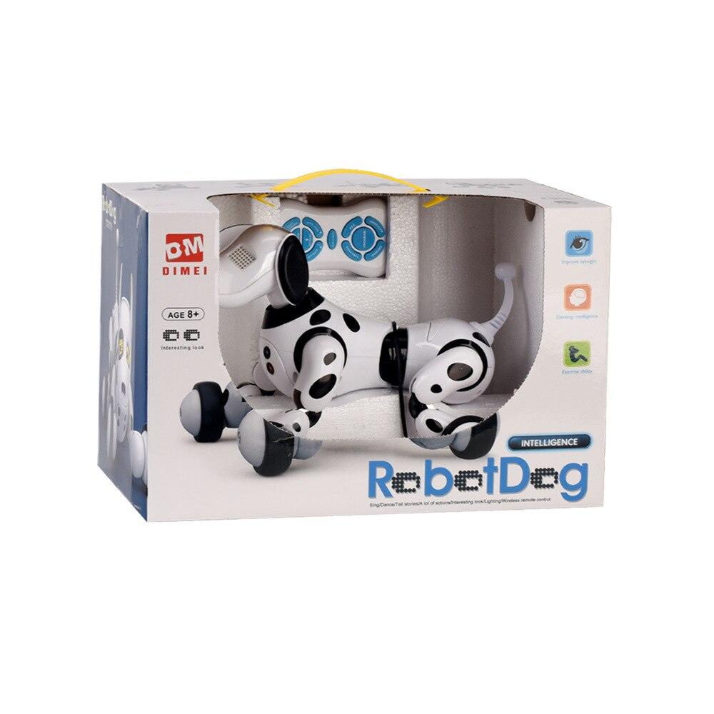 Mignon Animaux Chien Robot Animal Électronique Intelligent Jouet Pour Chien Intelligent Sans Fil Parler Télécommande Robot Enfants Cadeau Cadeau D'anniversaire - 3