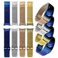 Fashion color Oro Milanese Bandas Reloj de Marca de Lujo de Acero Inoxidable band para samsung gear fit 2 sm-r360 venta caliente de la nueva Desgin