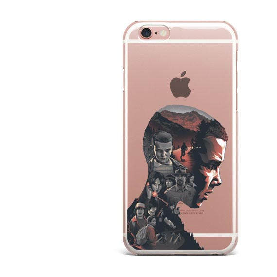 pretty nice 81466 5533e Stranger Things Christmas Lights Clear Soft Silicone TPU Phone Case For  Iphone 7 7Plus 6S 6Plus 5 5S SE 8 8Plus X 10 Cover