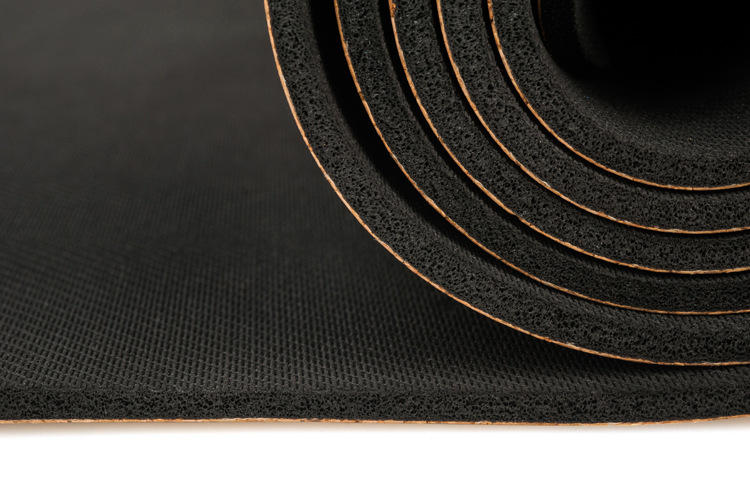 Image 4 - 183X68cm Natural Cork TPE Yoga Mat Fitness Gym Sports Mats 5mm Pilates Exercise Pads Non slip Yoga mats With Position Body LineYoga Mats   -